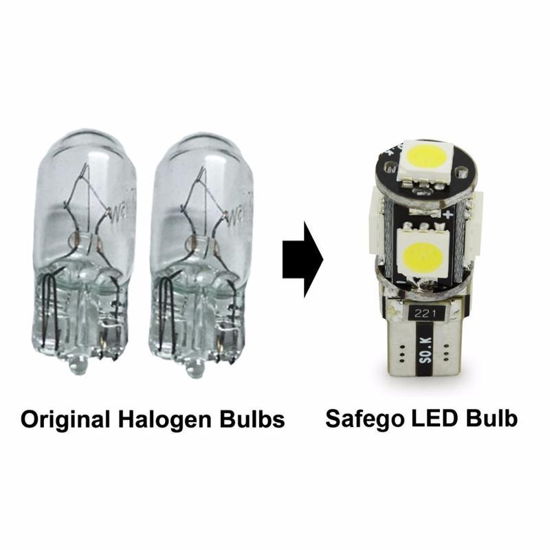 升級款 T10 5050 5SMD 炸彈燈泡 小炸彈燈泡 LED牌照燈 T10燈泡 T10LED小燈