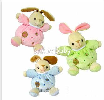 安撫兔子 寶寶玩具 嬰兒玩具 安撫玩具 手搖鈴 睡覺良伴 _櫻花寶寶