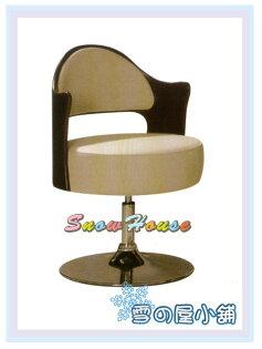 ╭☆雪之屋居家生活館☆╯AA334-05KC19洽談椅(白皮)辦公椅會議椅電腦椅休閒椅造型椅