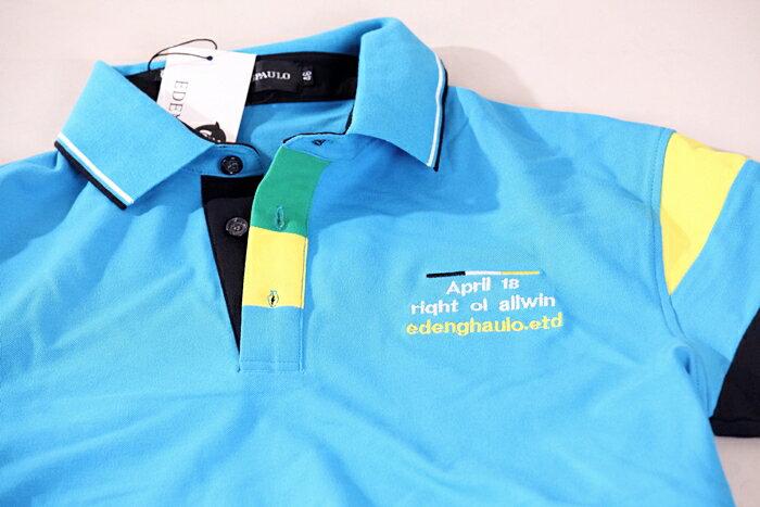 【CS衣舖 】美式風格 萊卡彈性 短袖POLO衫 9150 6