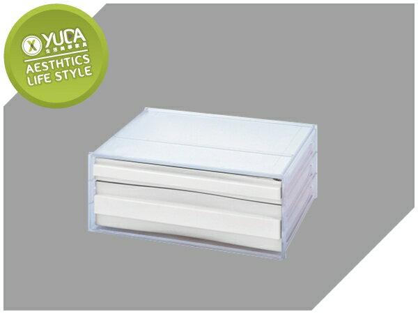 【YUDA】樹德 桌上型樹德櫃 DDH-111N(2抽) 資料櫃  效率櫃  收納櫃