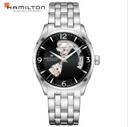 Hamilton 漢米爾頓 JAZZMASTER 爵士系列 80小時自動腕錶 H32705131黑/42MM