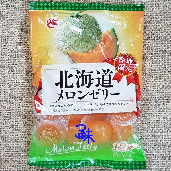 (日本) ACE bakery 北海道哈密瓜果凍 1包 180 公克 特價53元【 4970055131010 】