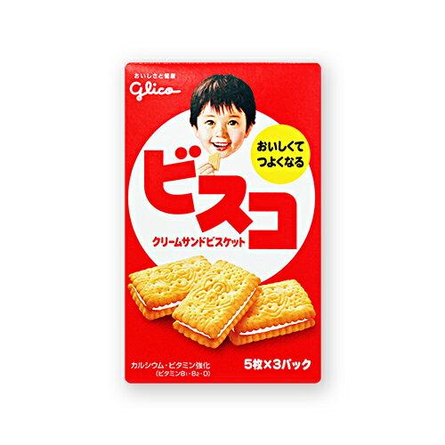 ★衛立兒生活館★Glico 格力高 美味夾心餅乾61.8g