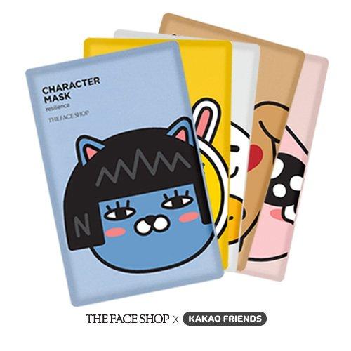 韓國THE FACE SHOP X KAKAO FRIENDS限量面膜(1片入) 5款可選【櫻桃飾品】【23089】