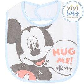 小奶娃婦幼用品:ViViBaby-Disney迪士尼繽紛米奇歡樂中圍兜