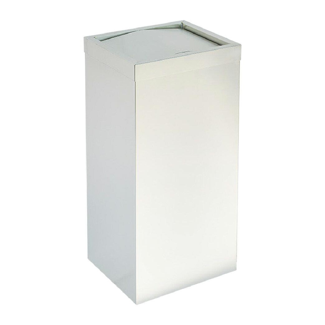 不鏽鋼搖擺式垃圾桶(無內桶) :TH-60S: 回收桶 分類桶 清潔 廚餘桶 環保