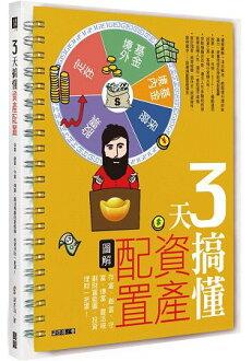 3天搞懂資產配置:存富、創富、守富、傳富,四步驟靈活規劃財富藍圖,投資理財一把罩!