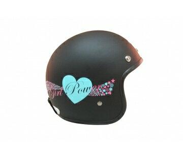 《EVO》智同 CA-309 Girl power(愛心) 3/4 半罩式 安全帽 LAUS(訂)