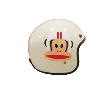 《EVO》智同 CA-309 Paul Frank 大嘴猴 3/4 半罩式 安全帽 LAUS(訂)
