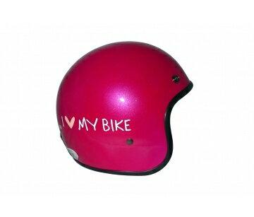 《EVO》智同 CA-309 I love my bike(機車) 3/4 半罩式 安全帽 LAUS(訂)