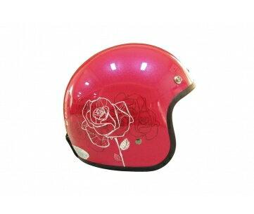 《EVO》智同 CA-309 flower series (玫瑰) 3/4 半罩式 安全帽 LAUS(訂)