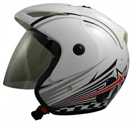《GP5》A203 英式搖滾 3/4 半罩式 安全帽【機車工程師】(訂)