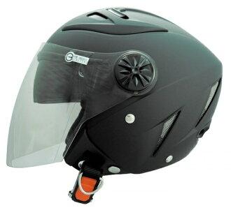 《GP5》232 加大素色 雙層鏡 半罩安全帽 3/4【機車工程師】(訂)