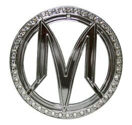 【機車工程師】《KYMCO精品》光陽原廠 Many車體左邊蓋M-logo水鑽貼紙 G86232-LKC7-710-T01 魅力 many 50/100/110