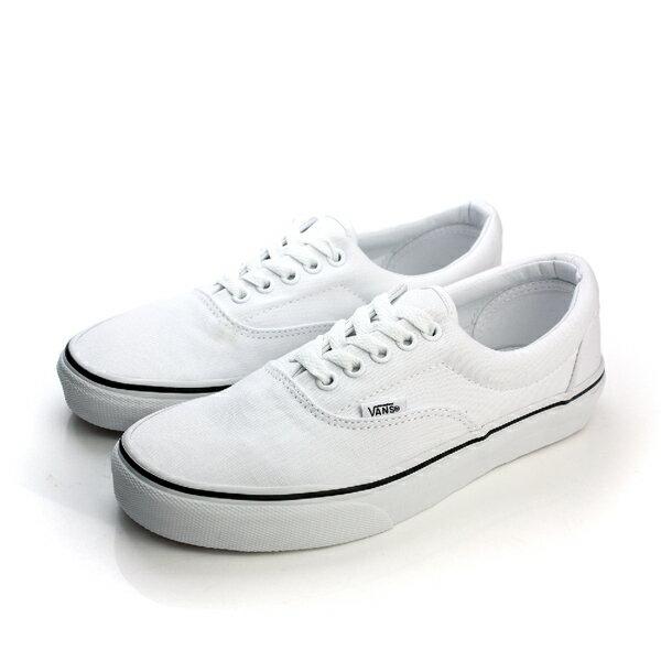 VANS Era 帆布鞋 綁帶 休閒 白色 男鞋 女鞋 C010251 no369