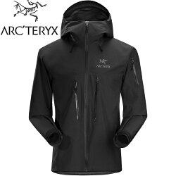 Arcteryx 始祖鳥Alpha SV 登山雨衣/風雨衣/Gore Tex/2/登山健行 頂級款 男 18082 黑色