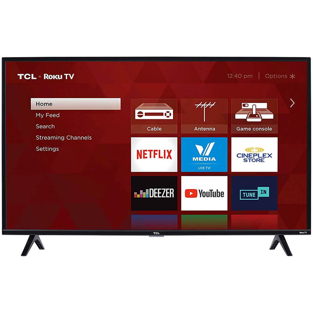 TCL 40S325 40 HD Roku Smart TV - 3-Series