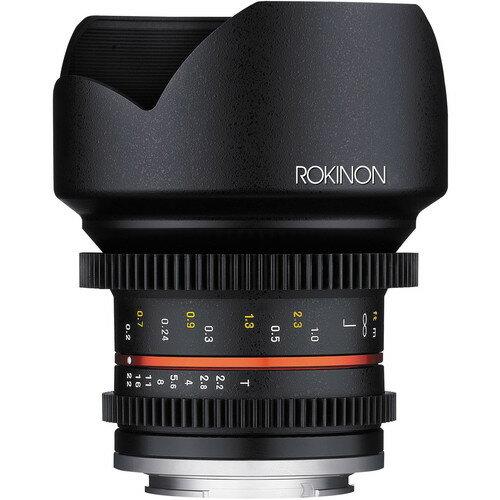 Rokinon 12mm T2.2 Cine Lens for Micro Four Thirds Mount CV12M-MFT 0