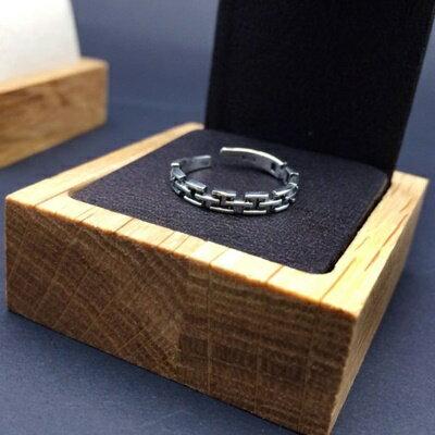 925純銀戒指銀飾~復古 鏈條 生日情人節 女飾品73ic18~ ~~米蘭 ~ ~  好康