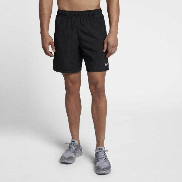 NIKECHALLENGE男裝短褲慢跑訓練7吋透氣黑【運動世界】908789-010