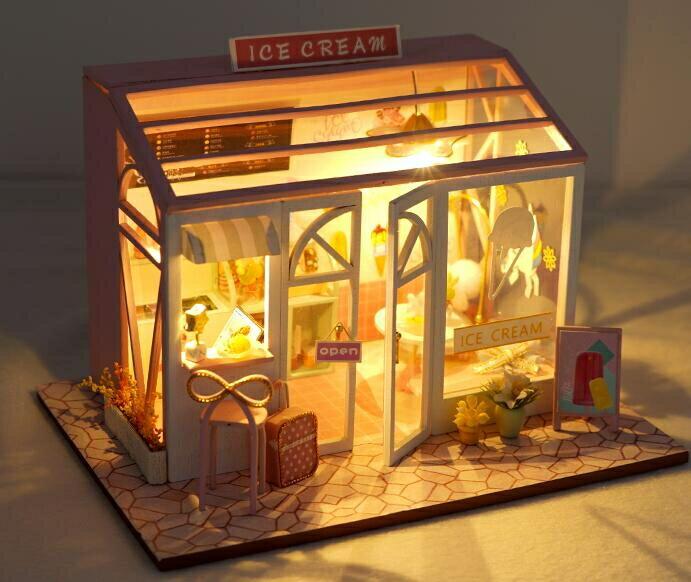 diy小屋 巧之匠diy小屋手工制作解悶創意迷你店鋪建筑模型玩具生日禮物女