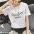 F-DNA★GIRLBOSS草寫英文圓領短袖上衣T恤(2色-M-2XL)【ET12713】 3