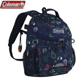 [Coleman]5L童PETIT背包露營地圖藍公司貨CM-32954