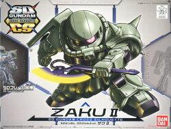 ☆勳寶玩具舖【鋼彈現貨】BANDAI 組裝模型 SD鋼彈 SDCS MS-06 ZAKU II 薩克II 骨架版內構