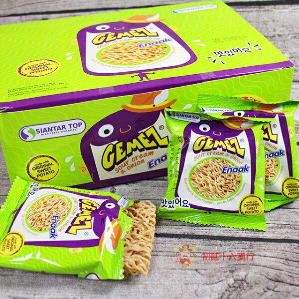 【0216零食會社】Enaak洋蔥風味點心麵16gX30包(盒)