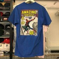 Marvel 男裝服飾推薦到現貨BEETLE BAIT 漫威 MARVEL COMICS 蜘蛛人 SPIDER MAN TEE 藍色 短T S就在BEETLE PLUS推薦Marvel 男裝服飾