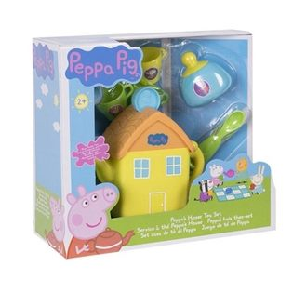 《PeppaPig》粉紅豬小妹房屋茶壺組