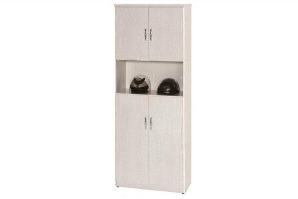 【石川家居】883-01白橡色鞋櫃(CT-328)#訂製預購款式#環保塑鋼P無毒防霉易清潔
