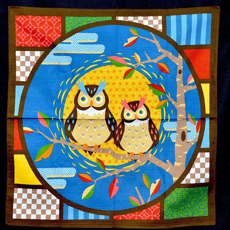 貓頭鷹 和風門簾 屏風 日式 輕鬆改變居家風格 裝飾 日本製