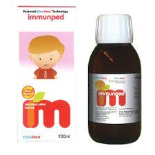 immunped  益妙兒糖漿 100ML  特價商品會去除批號及QR CODE