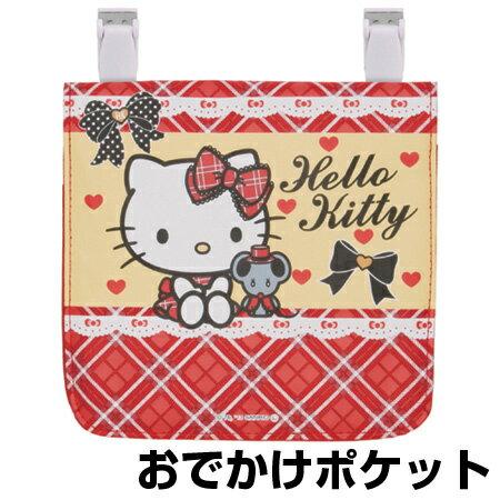 X射線【C254789】Hello Kitty保冷口袋夾包-格紋,美妝小物包/媽媽包/面紙包/化妝包/零錢包/收納包/皮夾/手機袋/鑰匙包