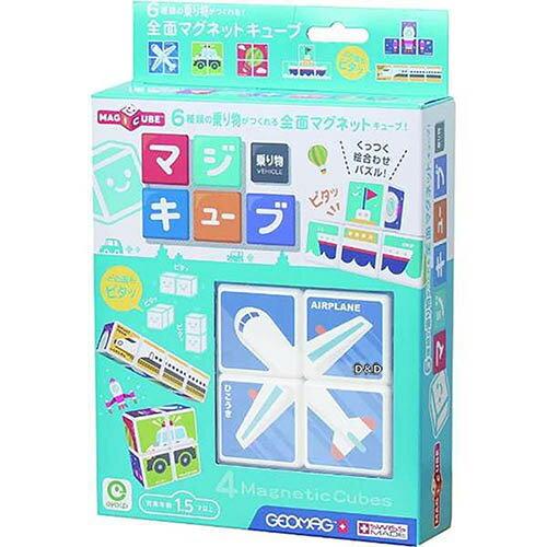 《日本 EyeUp》益智 六面磁力拼圖(交通) 東喬精品百貨