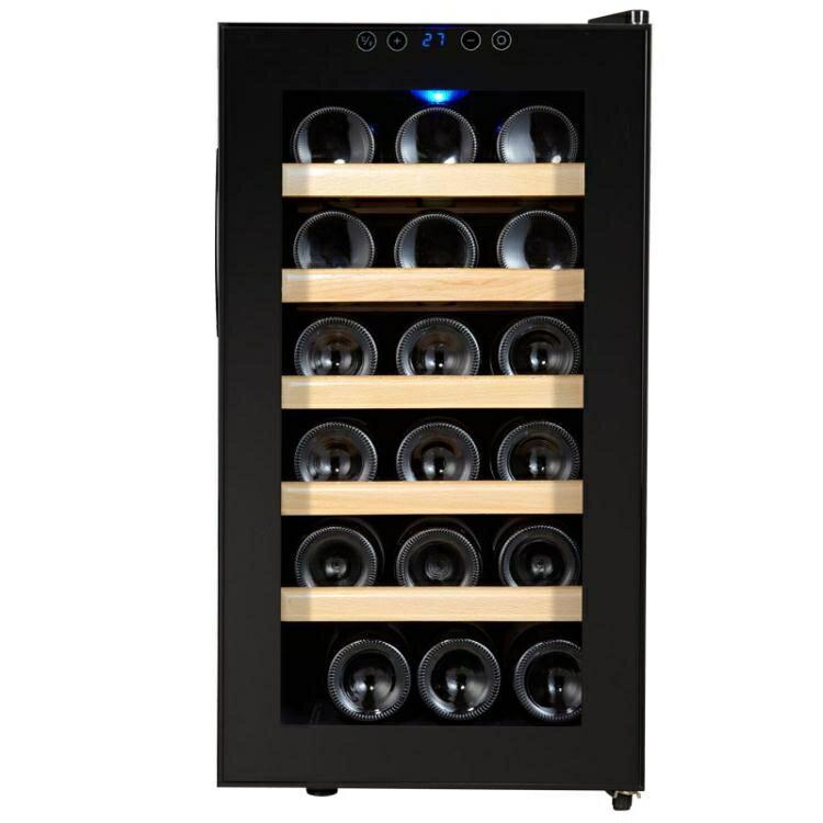 [快速出貨] 維諾卡夫 SC-18AJPm 電子恒溫紅酒櫃 恒溫酒櫃家用冰吧  七色堇 元旦 交換禮物
