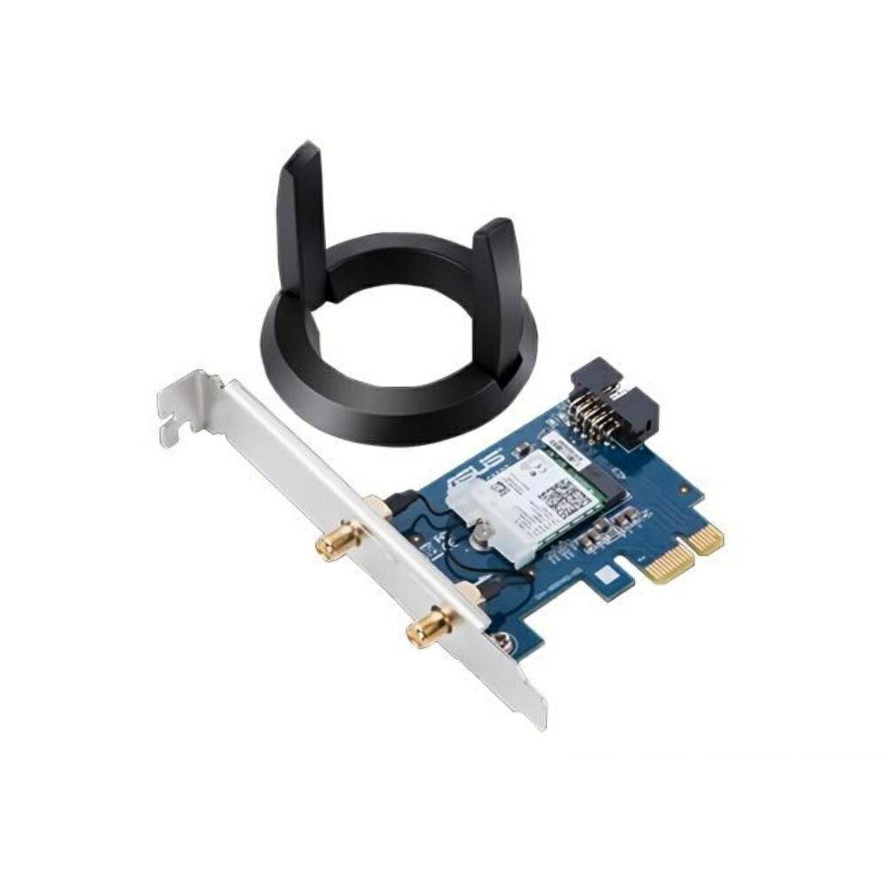 [富廉網] ASUS 華碩 PCE-AC58BT AC2100 PCIe 160MHz 雙頻無線網卡