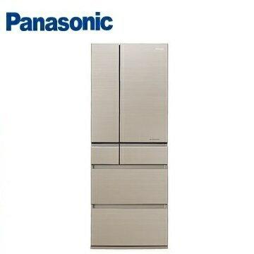 Panasonic國際牌NR-F553HX六門變頻玻璃冰箱(550L)(翡翠金)※熱線:07-7428010