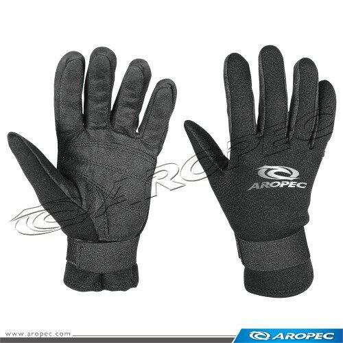 【【蘋果戶外】】AROPEC G-505 黑 2mm Neoprene/Amara手套