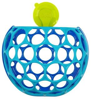 【淘氣寶寶】美國KidsII-Oball洞動洗澡玩具置物籃【洗澡完後東西很快地收整齊,後方平面設計,方便掛在牆上】