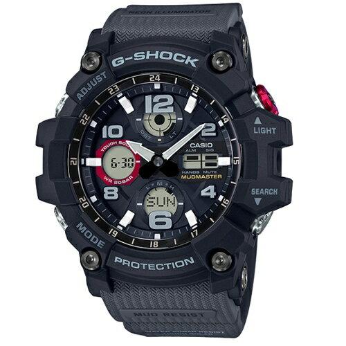CASIOG-SHOCK時間悍將勇者運動腕錶GSG-100-1A8DR