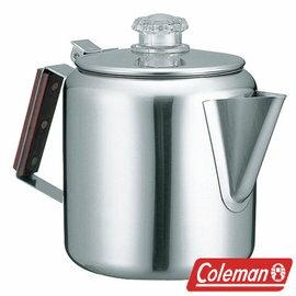 Coleman 不鏽鋼濾壺 CM-8028J 露營 水壺 茶壺 咖啡壺