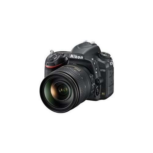 "Nikon D750 24.3 Megapixel Digital SLR Camera with Lens - 24 mm - 120 mm - 3.2"" LCD - 16:9 - 5x Optical Zoom - i-TTL - 6016 x 4016 Image - 1920 x 1080 Video - HDMI - HD Movie Mode 0"