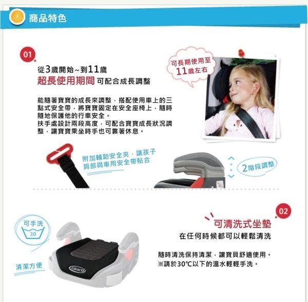 Graco COMPACT JUNIOR 幼兒成長型輔助汽車安全座椅(卡通車) 1680元【無法超商取件】 2