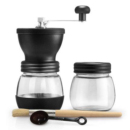 手磨咖啡機 啡憶 手搖磨豆機 家用咖啡豆研磨機 小型手動咖啡機磨粉機可水洗『MY3445』