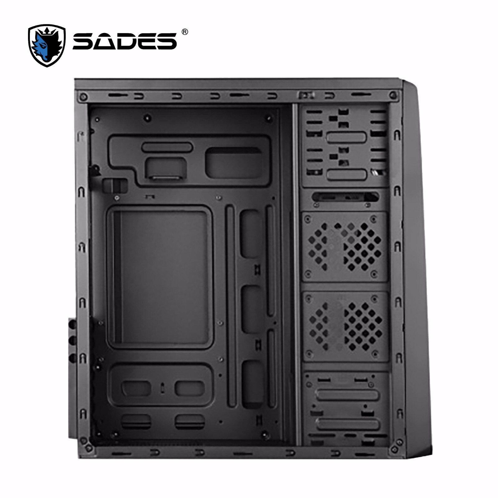 【迪特軍3C】立光代理 SADES 賽德斯 狼王萊肯 強化裝甲機箱 電腦機殼 適用ATX M-ATX ITX 主機板 0.7超厚鋼板 2