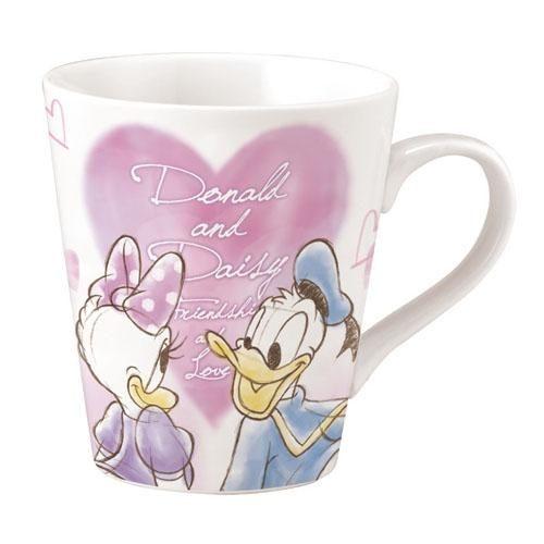 迪士尼 馬克杯 唐老鴨黛西 素描復古風 Disney  該該貝比  ☆