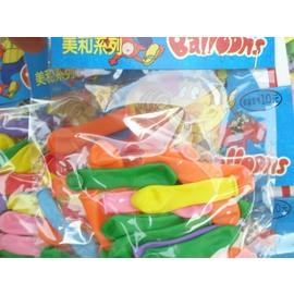 水球 小氣球 601W- 3吋氣球(小.吊卡式)/{定10}一吊24包入(一包約18-21個入)